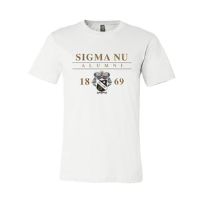New! Fraternity Alumni Crest Short Sleeve Tee