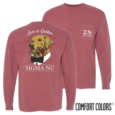Fraternity Comfort Colors Sweetheart Retriever Tee
