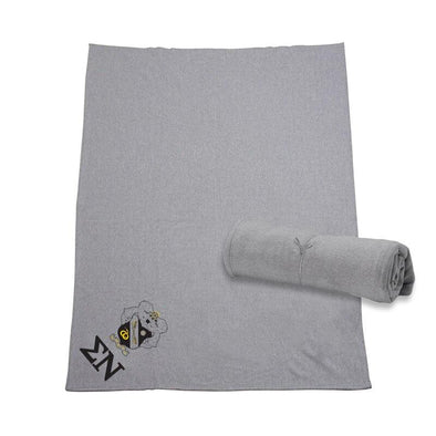 Fraternity Heather Gray Sweatshirt Blanket