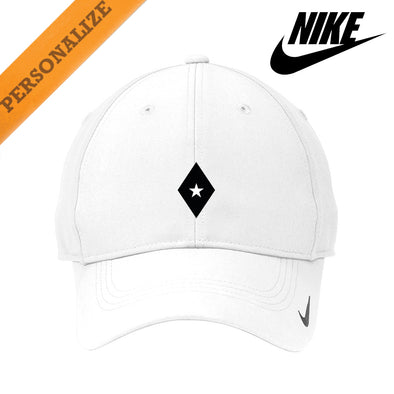 New! Fraternity Personalized White Nike Dri-FIT Performance Hat