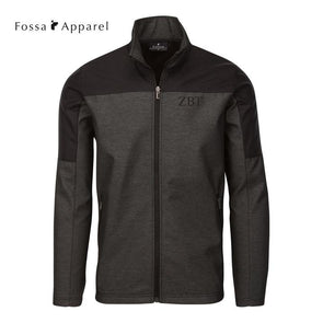 New! Fraternity Fossa Slate Soft Shell Jacket