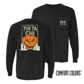 Fraternity Comfort Colors Jack-O-Lantern Tee