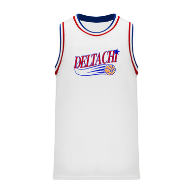 New! Fraternity Retro Swish Basketball Jersey