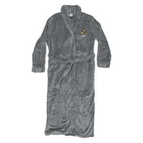 New! Personalized Charcoal Ultra Soft Robe