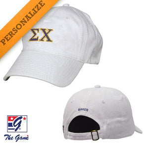 Fraternity Personalized White Hat by The Game