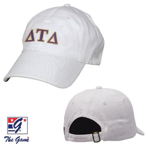 Fraternity Greek Letter Adjustable Hat by The Game