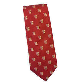 Fraternity Repeating Pattern Silk Tie