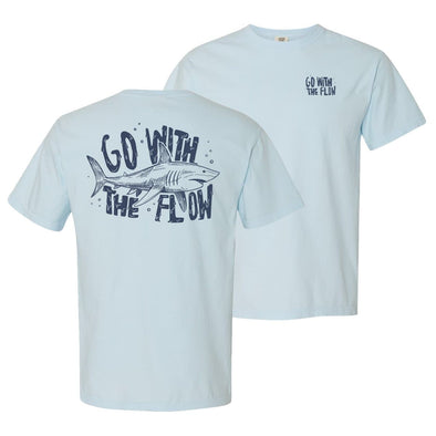 New! Go With The Flow Short Sleeve Tee