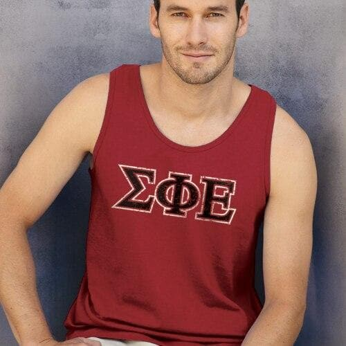 SigEp Red Athletic Tank Top