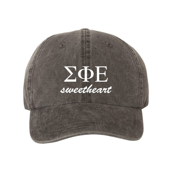 New! SigEp Sweetheart Ball Cap