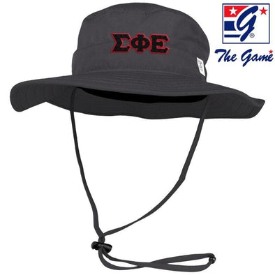 SigEp Charcoal Boonie Hat By The Game ®