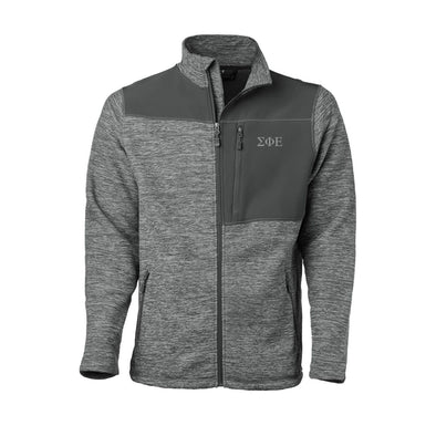 Clearance! SigEp Gray Thermo Fleece Jacket