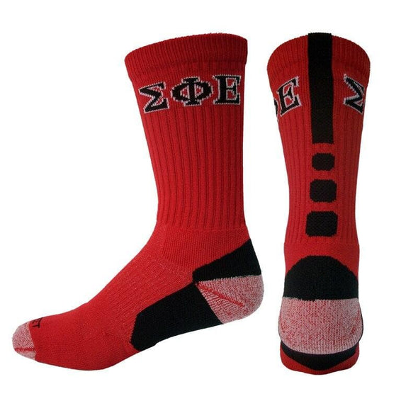 Sale! SigEp Red Performance Shooter Socks