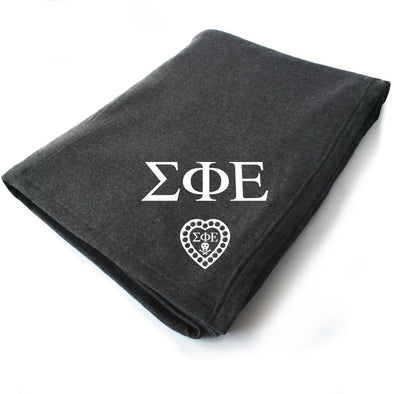 New! SigEp Symbol Blanket