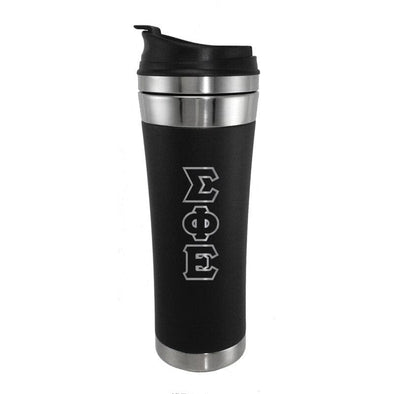 Sale! SigEp Stainless Travel Mug