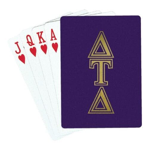 Delt Playing Cards