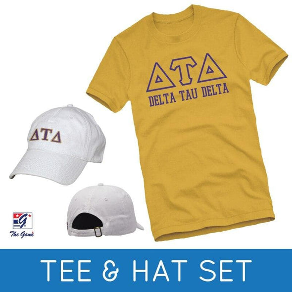 Sale! Delt Tee & Hat Gift Set