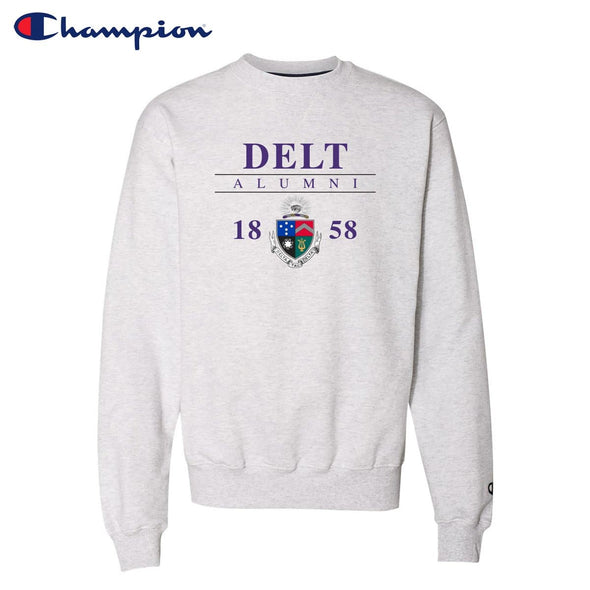 New! Delt Alumni Champion Crewneck
