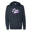 Clearance!  Delt Retro Lightweight T-Shirt Hoodie