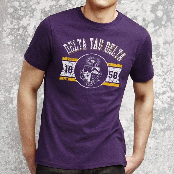 Delt Purple Gymnasium Tee