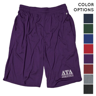 Delt Intramural Athletics Pocketed Performance Shorts