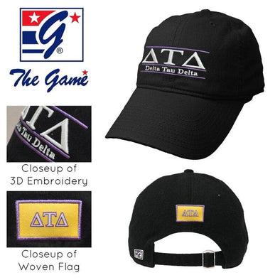 Delt Black Ultimate Hat by The Game®