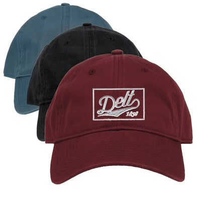 New! Delt Retro Ball Cap