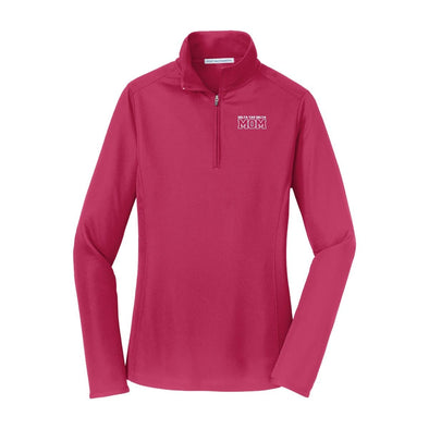 Delt Mom Pink Performance 1/4 Zip
