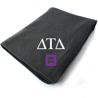 New! Delt Symbol Blanket