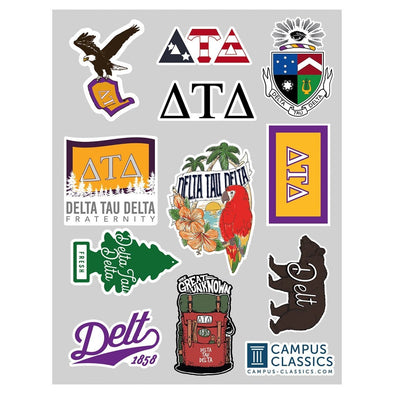 Delt Sticker Sheet
