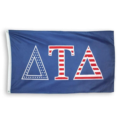 Delt Stars and Stripes Flag