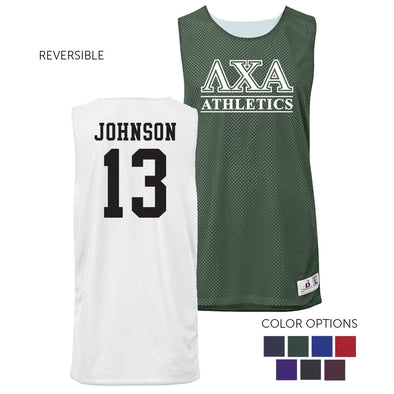 Lambda Chi Personalized Intramural Athletics Reversible Mesh Tank