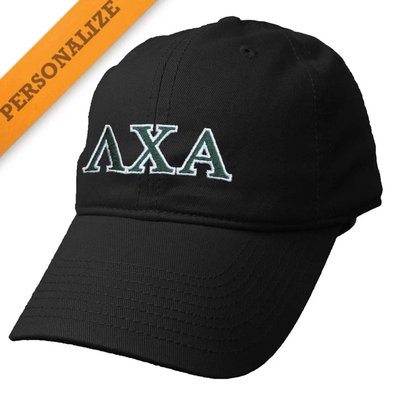 Lambda Chi Personalized Black Hat by The Game