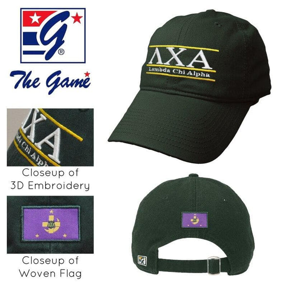 Lambda Chi Dark Green Ultimate Hat by The Game®