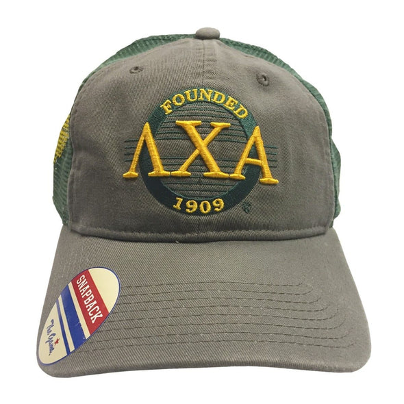 Clearance! Lambda Chi Mesh Trucker Hat By The Game®