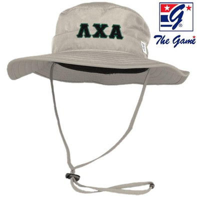 Lambda Chi Stone Boonie Hat By The Game ®
