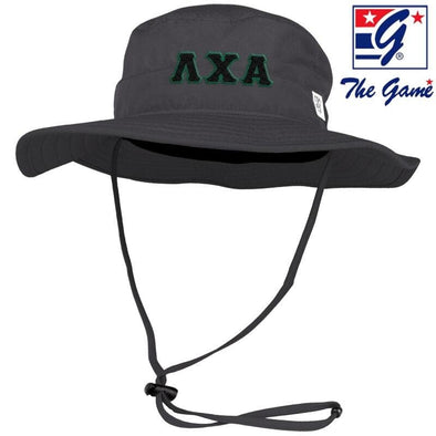 Lambda Chi Charcoal Boonie Hat By The Game ®