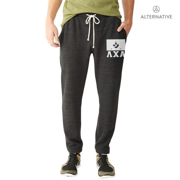 Lambda Chi Dark Heather Jogger Pants