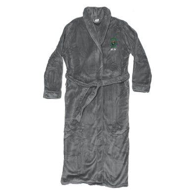 New! Lambda Chi Personalized Charcoal Ultra Soft Robe
