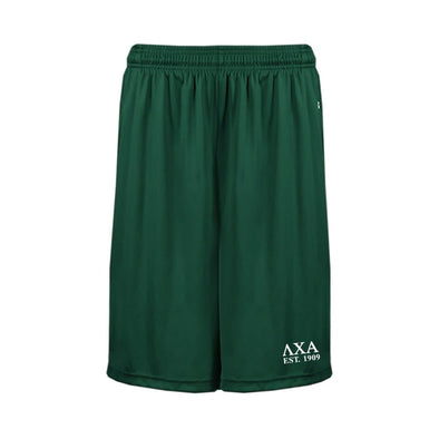 Lambda Chi Forest Pocketed Performance Shorts
