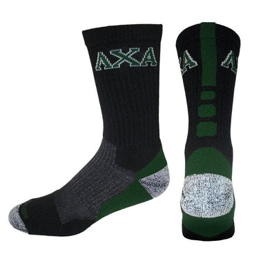 Lambda Chi Black & Forest Performance Shooter Socks
