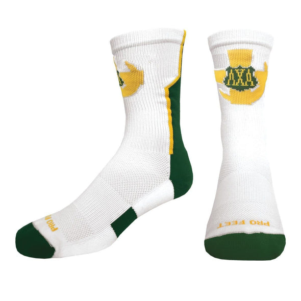 Sale! Lambda Chi White Performance Socks