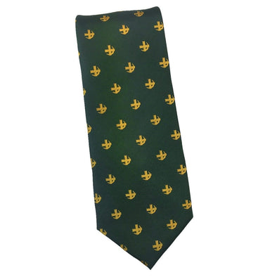 Sale! Lambda Chi Cross and Crescent Silk Tie