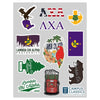 Lambda Chi Sticker Sheet