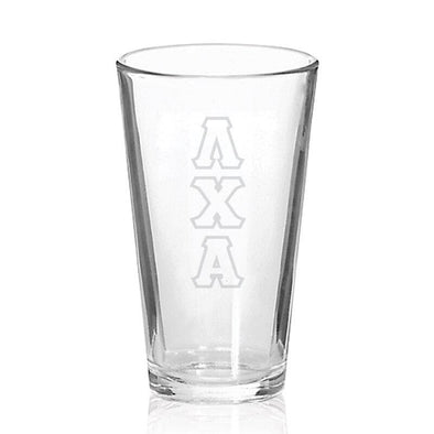 Sale! Lambda Chi Engraved Fellowship Glass