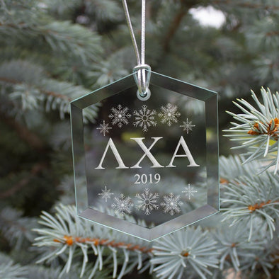 New! Lambda Chi 2019 Limited Edition Holiday Ornament