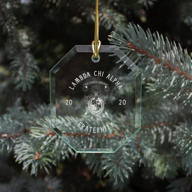 New! Lambda Chi 2020 Limited Edition Holiday Ornament