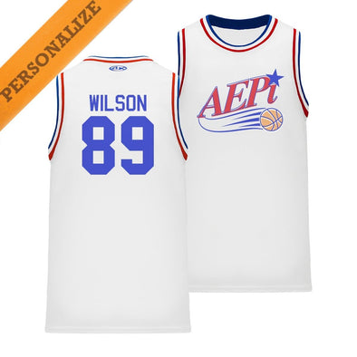 New! AEPi Personalized Retro Swish Basketball Jersey