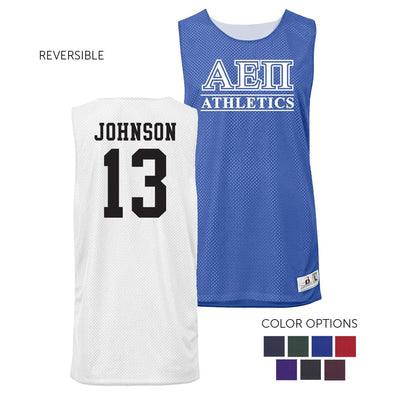 AEPi Personalized Intramural Athletics Reversible Mesh Tank