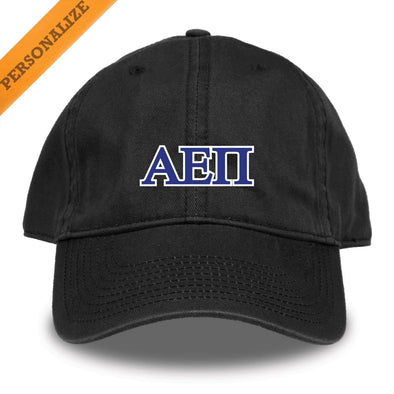 New! AEPi Personalized Black Hat by The Game